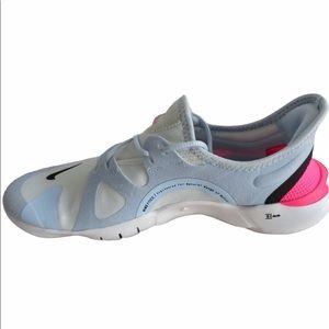 Nike Free Run 5.0 Perriwinkle, Black, Pink